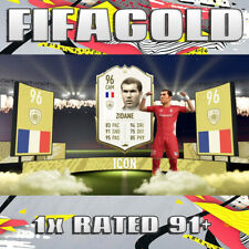 FIFA 20 Ultimate Team 🔥 1x Rated Player 91+ 🔥 Coin Value 🔥 PS4