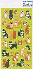 Lindo Kawaii Pegatinas Shiba Inu diario de perro japonés planificador Craft Doge Papelería