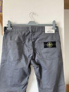 Mens Stone Island Chino Trousers W32 L34 Slim Fit