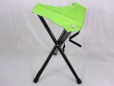 Lime Green 3-Legged Folding Aluminum Disc Golf Stool