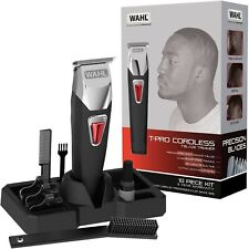 Wahl T-Pro Detailer Hair Trimmer Clipper T-Blade Cordless Rechargeable 9860-806