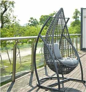 Adult Hanging Chair Cushion Rocking Basket Bird Nest Basket Mat Rattan Rocking