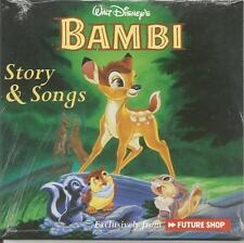 Walt Disney's Bambi Story & Songs Promo CD only from Future Shop Canada 2004 New