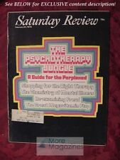 Saturday Review February 21 1976 PSYCHOTHERAPY MORRIS B. PARLOFF ANTHONY WOLFF