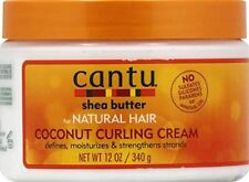 Cantu Shea Butter Coconut Moisturizing Curling Cream for Natural Hair - 340g