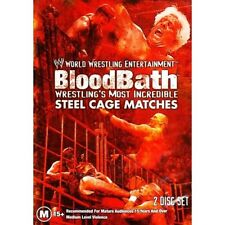 WWE - Bloodbath - Wrestling's Most Incredible Steel Cage Matches - 2 Disc DVD
