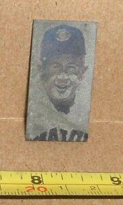 Berdie Tebbetts Newspaper Printing Plate 1963 Tigers Red Sox Indians Player Mgr.