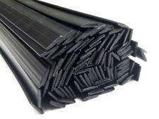 Kunststoffschweißdraht ABS 8x2mm Flach Schwarz 25 Stäbe