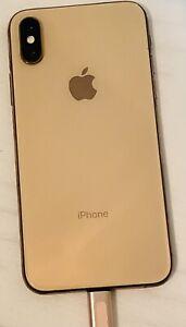 Apple iPhone XS - 256GB - Gold (Unlocked) A1920 (CDMA + GSM) Used