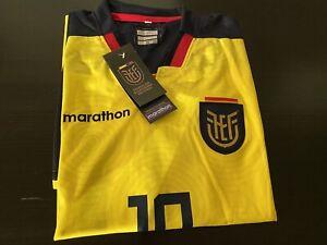ECUADORIAN SELECTION FOOTBALL JERSEY SOCCER SHIRT XL (COPY) Unofficial