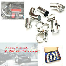 Car Cold Air Intake Tube Injection Pipe 3inch 76MM Aluminum Filter Low noise Kit