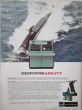 8/73 PUB WATKINS JOHNSON WJ-1240 RECEIVING SYSTEM SUBMARINE RECEIVER ANTENNA AD