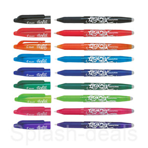 Pilot FriXion Rollerball Erasable Pens - 0.7 & 0.5mm Tip Pen - Choose Colour