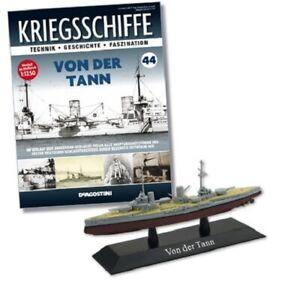DeAgostini 1:1250 German Battlecruiser - SMS Von der Tann, #DAKS44