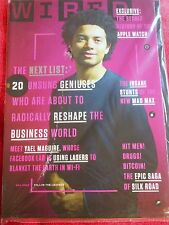 WIRED MAGAZINE MAY 2015 GENIUSES RESHAPING BUSINESS FACEBOOK APPLE WATCH MAD MAX