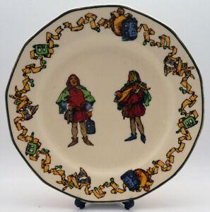 Vintage Royal Doulton Side Plate - The Minstrels Series