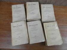 DE GENOUDE / LES PERES DE L EGLISE Sapia 1838-1842  6 Volumes