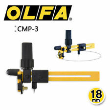 OLFA CMP-3 18mm Rotary Compass Circle Cutter Fabric Knife MADE IN JAPAN_V