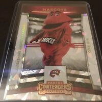 Panini Contenders 2020 Western Kentucky Mascot Cracked Ice Big Red SSP /23