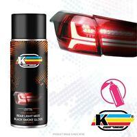 Vernice Per Oscuramento Fari Posteriori Spray NERO Oscurante Lucido Fanali Auto