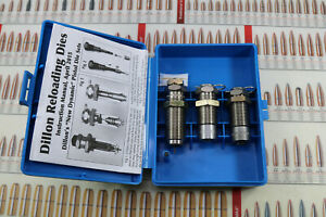Dillon Progressive 3 Die Carbide Set 45 ACP GAP Reloading Defense Target Ammo FS