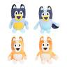 Anime TV Bluey Bingo Cartoon Plush Toy Mom Dad Soft Stuffed Doll 28CM Kids Gift