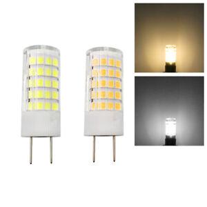 G8 G8.5 Bi-Pin T5 Led Light Bulb 4W 64-2835 SMD Lamp AC/DC 12V Ceramics Light