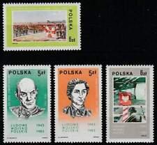Polen postfris 1983 MNH 2883-2886 - Pools Volksleger