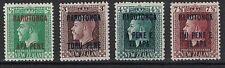 COOK ISLANDS:1919 SC#48, 52, 56, 58 MVLH