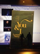 Mass-Market Paperback Leonard Nimoy You And I, Poetry