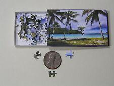 "Mini Jigsaw Puzzle 100 piece 1:12 ""Paradise Island"""