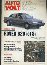 (11A) AUTO VOLT ROVER 820i et Si Novembre 1990 n°660