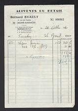 """MIGNE-AUXANCES (86) ALIMENTS du BETAIL """"Bernard RUAULT"""" en 1970"""