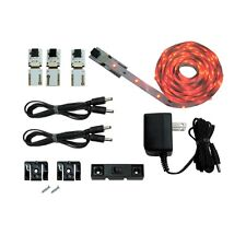 LED Accent Lighting, Solder less strip lights with Complete Kit-Red