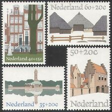 Netherlands 1969 Welfare Fund/Monuments/Buildings/Architecture 4v set (n40598)