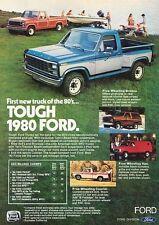 1980 Ford F-100 F-150 Truck Original Advertisement Print Car Ad J543