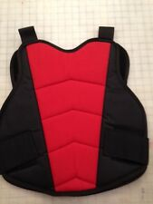 RED/BLACKChest and Back Protector Paintball and Airsoft Body Armor Vest