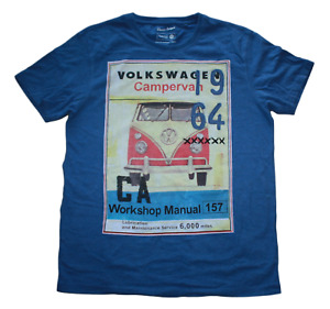 VW Camper 1964 - Workshop Manual 157 - Men's size small t shirt