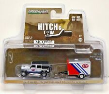 GREENLIGHT HITCH & TOW 2015 JEEP WRANGLER UNLIMITED & SMALL CARGO TRAILER