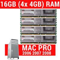 Apple Mac Pro 3,1 2,1 1,1 2006 2007 2008 Memory 16GB 4x4GB PC2 5300F 667 FBDIMM