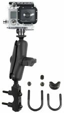 RAM Brake Clutch Reservoir Motorcycle Mount with custom Adapter for GoPro Hero