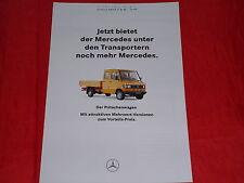 MERCEDES T1 Transporter TN Pritschenwagen Mehrwert Prospekt Brochure von 1994