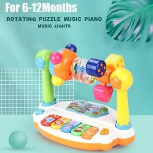 6 To 12 Months Up Musical Learning Rotatable Baby Toys Early Education Activity.
