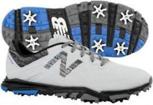 New Balance Men's Minimus Tour Golf Shoe White/Black NBG1007WK