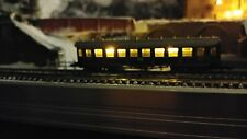 Marklin Z scale  8730 Passenger car with flicker free warm white lighting