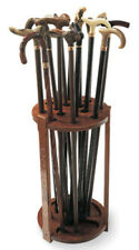 "CANE RACKS - ""CAMBRIDGE"" WOODEN CANE RACK - WALKING STICK STAND"