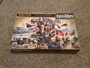 Axis & Allies : WWI 1914 - Avalon Hill - Never Played - Out of Print