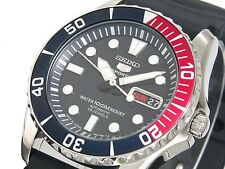 SEIKO MENS 5 SPORTS AUTOMATIC WATCH 100M SNZF15J2 Warranty,Box