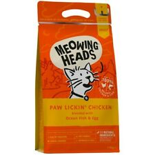 Meowing Heads Paw Lickin' Chicken Cat Food | Cats