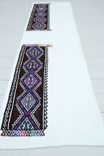 "Anatolian Turkish Kilim Runner Carpet Runner Hallway Long Corridor Rug 25""X83"""